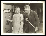 """THE GHOST OF FRANKENSTEIN"" LOBBY CARD PAIR/STILL."