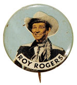 """ROY ROGERS"" BUTTON."
