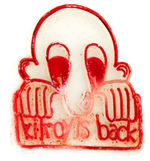 """KILROY IS BACK"" 1970s PLASTIC RING."
