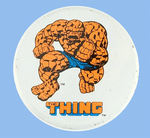 """THING"" 1979 MARVEL COMICS GIVE-AWAY BUTTON FROM HAKE COLLECTION & CPB."