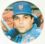 """LEE MAZILLI"" and ""MOOKIE WILSON"" PAIR OF 1980s METS BUTTONS."