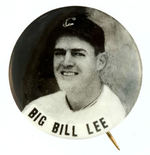 """BIG BILL LEE"" PHOTO BUTTON."