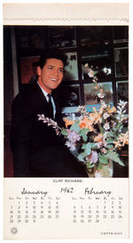 HEART THROBS CALENDAR W/ELVIS PRESLEY.