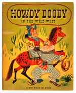"""HOWDY DOODY IN THE WILD WEST"" BIG GOLDEN BOOK."