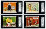 """MICKEY MOUSE WITH THE MOVIE STARS"" COMPLETE SET SGC-GRADED (MAURICE SENDAK COLLECTION)."