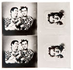 ABBOTT & COSTELLO MINIATURE INSERT PICTURES FOR RINGS/CHARMS