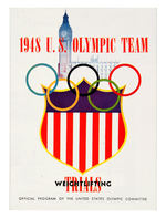 """1948 U.S. OLYMPIC TEAM WEIGHTLIFTING TRIALS"" PROGRAM."