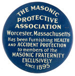 """THE MASONIC PROTECTIVE ASSOCIATION"" MIRROR."