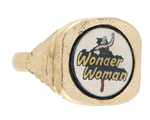 """WONDER WOMAN"" SCARCE 1976 RING TRIO."
