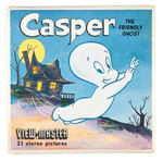 """CASPER THE FRIENDLY GHOST"" COMPLETE THREE-REEL VIEW-MASTER PACK W/SAMPLE REEL."