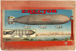 "GILBERT ""ERECTOR"" RARE ZEPPELIN BOXED SET."