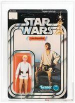 """STAR WARS - LUKE SKYWALKER"" 12 BACK-C AFA 95 MINT (YELLOW HAIR)."