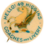 HIGGINS COACHES & LIVERY EARLY AD BUTTON