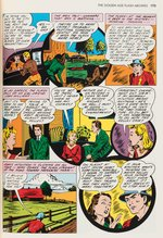 "E.E. HIBBARD ""ALL-FLASH QUARTERLY"" #2 COMIC BOOK PAGE ORIGINAL ART CUSTOM FRAMED DISPLAY."