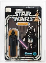 """STAR WARS - DARTH VADER"" 12 BACK-A AFA 70 EX+ (DOUBLE-TELESCOPING)."