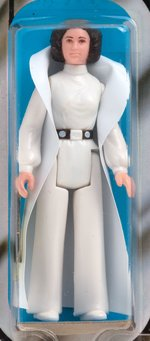 """STAR WARS - PRINCESS LEIA ORGANA"" 12 BACK-A AFA 95 MINT."
