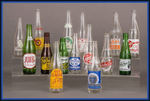 Vintage Ad Soda Bottle Lot of 15