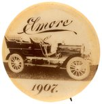 ELMORE 1907 RARE BUTTON ISSUED YEAR PRIOR TO PURCHASE BY GM'S DURANT.