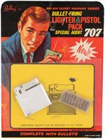 SPECIAL AGENT 707 LIGHTER AND PISTOL PACK ON CARD.