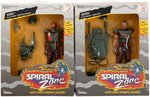 SPIRAL ZONE BANDIT AND REAPER ACTION FIGURE PAIR.
