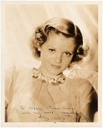 """CAT PEOPLE"" STAR SIMONE SIMON SIGNED PHOTO."