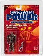 "CAPTAIN POWER ""BLASTARR GROUND GUARDIAN"" SERIES 1 ACTION FIGURE AFA 85NM+."