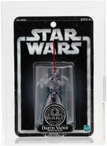 STAR WARS NY TOYFAIR EXCLUSIVE DARTH VADER AND RETURN OF THE JEDI BLUE CARD EPHANT MON AFA PAIR.
