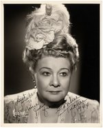 SOPHIE TUCKER SIGNED PHOTO.