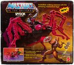 """MASTERS OF THE UNIVERSE"" BOXED ""SPYDOR EVIL STALKER"" VEHICLE."