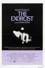 """THE EXORCIST"" 30x40"" MOVIE POSTER"