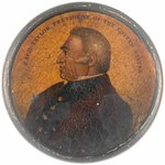 "RARE ""ZACH TAYLOR PRESIDENT OF THE UNITED STATES"" PORTRAIT SNUFF BOX."