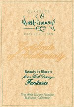 "FANTASIA ""BEAUTY IN BLOOM"" & ""ROMANTIC REFLECTIONS"" WALT DISNEY CLASSICS COLLECTION BOXED PAIR."
