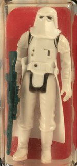 "PALITOY ""STAR WARS: THE EMPIRE STRIKES BACK - HOTH SNOWTROOPER"" 30 BACK-A AFA 80 Y-NM."