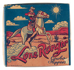 """LONE RANGER COWBOY SLIPPERS"" BOX"