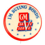 GENERAL MOTORS BOND SALES BUTTON.