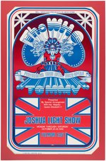 THE WHO - TOMMY 1969 ARTIST-SIGNED BILL GRAHAM CONCERT POSTER FME-10.