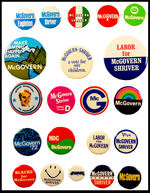 21 George McGovern 1972 Campaign Buttons