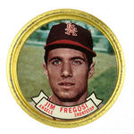"""JIM FREGOSI"" FROM TOPPS 1964 SET."