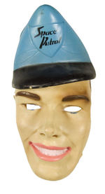 """SPACE PATROL"" BUZZ CORRY PLIABLE VINYL FACE MASK."