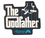 """THE GODFATHER"" VIDEO PROMO BADGE."