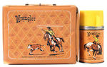 """WRANGLER"" LUNCHBOX AND THERMOS."