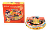 """WORLD TRAVELING/WORLD AIR LINE"" BOXED TOY."