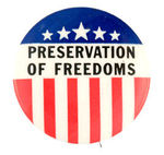 """PRESERVATION OF FREEDOMS."""