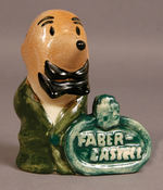 """FABER-CASTELL"" PENCIL MAN FIGURE."