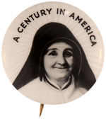 "CPB RELIGION #107 ""A CENTURY IN AMERICA"" JULIE BILLIART BUTTON."