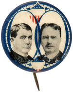 HANLY AND LANDRITH 1916 PROHIBITION PARTY JUGATE BUTTON.