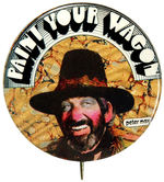 """PAINT YOUR WAGON"" BUTTON."
