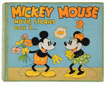"""MICKEY MOUSE MOVIE STORIES BOOK 2"" HARDCOVER."
