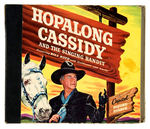 """HOPALONG CASSIDY AND THE SINGING BANDIT"" RECORD-READER ALBUM."