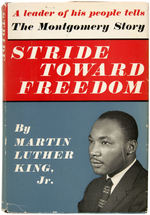 MARTIN LUTHER KING JR'S FIRST BOOK SIGNED AND INSCRIBED TO CHIEF JUSTICE EARL WARREN.